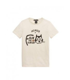 CAMISETA FELIX EL GATO SCOTCH & SODA