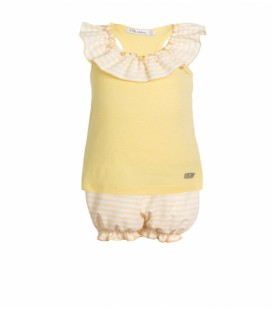 CONJUNTO CAMISETA Y SHORT EVE CHILDREN