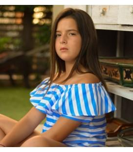 BLUSA TEEN RAYAS DIMELO HILANDO
