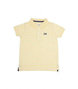 POLO RAYAS AMARILLO SCOTTA