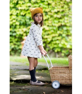 VESTIDO TECKELS KIDS CHOCOLATE