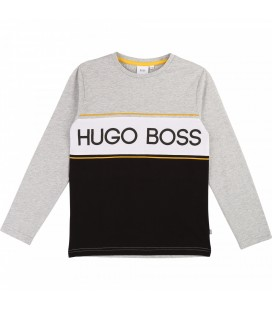 CAMISETA LOGO HUGO BOSS