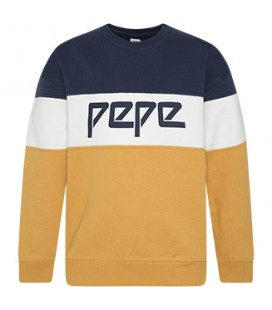 SUDADERA TRICOLOR PEPE JEANS
