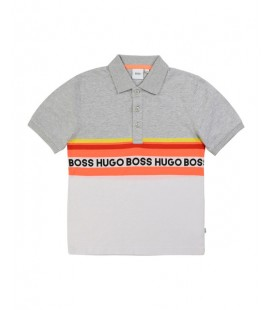 POLO LISTAS HUGO BOSS