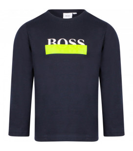 CAMISETA MANGA LARGA HUGO BOSS