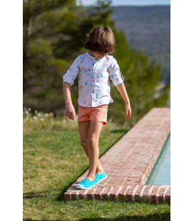 PANTALON CORTO PAPAYA KIDS CHOCOLATE