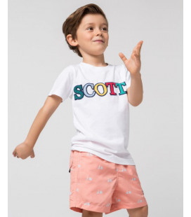 CAMISETA LETRAS SCOTTA